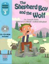 The Shepherd Boy and the Wolf Książka z płytą CD - An Aesop's fable | mała okładka