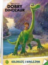 Dobry Dinozaur Koloruję i naklejam BI-3 -  | mała okładka