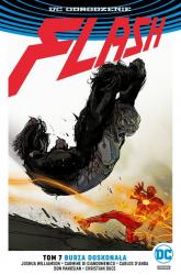 Flash T.7 Burza doskonała - Joshua Williamson   mała okładka