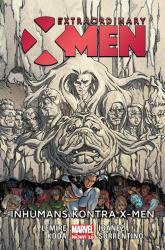 Extraordinary X-Men Inhumans kontra X-Men - Jeff Lemire | mała okładka
