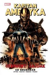 Kapitan Ameryka Tom 2 Czerwony łajdak - Ed Brubaker | mała okładka
