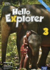 Hello Explorer 3 Podręcznik + 2CD Szkoła podstawowa - Heath Jennifer, Adlard Rebecca, Sikora-Banasik Dorota | mała okładka