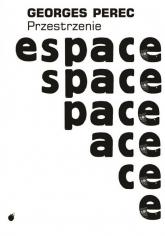 Przestrzenie - Georges Perec | mała okładka