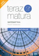 Teraz Matura 2020 Matematyka Arkusze maturalne Poziom rozszerzony - Muszyńska Ewa, Wesołowski Marcin | mała okładka