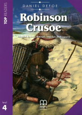 Robinson Crusoe Książka z płytą CD - Daniel Defoe | mała okładka