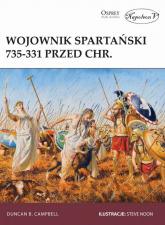 Wojownik spartański 735-331 przed Chr. - Duncan B. Campbell | mała okładka