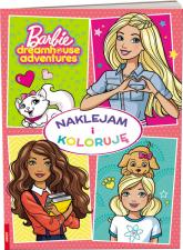 Barbie Naklejam i Koloruję -  | mała okładka
