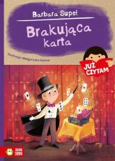 Już czytam Brakująca karta - Barbara Supeł | mała okładka