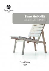 Simo Heikkilä Designer's Life and Work - Anna Wiśnicka   mała okładka