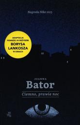 Ciemno prawie noc - Joanna Bator | mała okładka