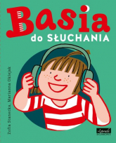 Basia do słuchania Książka z płytą CD mp3 - Zofia Stanecka | mała okładka