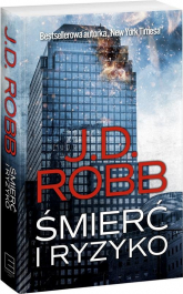 Śmierć i ryzyko - J.D. Robb | mała okładka