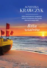 Róża wiatrów Wielkie Litery - Agnieszka Krawczyk | mała okładka