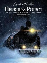 Herkules Poirot Morderstwo w Orient Expressie - Agata Christie | mała okładka