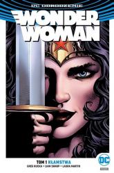 Wonder Woman Tom 1 Kłamstwa - Greg Rucka   mała okładka
