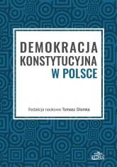 Demokracja konstytucyjna w Polsce -    mała okładka