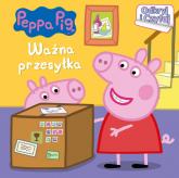 Peppa Pig Odkryj i czytaj Ważna przesyłka - zbiorowe opracowanie | mała okładka