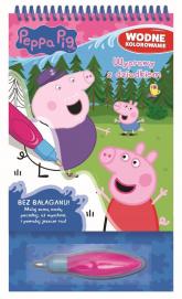 Peppa Pig Wodne kolorowanie 4 Wyprawy z dziadkiem - zbiorowe opracowanie | mała okładka