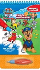 Psi Patrol Wodne kolorowanie 3 Załoga mechaników - zbiorowe opracowanie | mała okładka