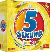 5 sekund junior Gra 100 nowych pytań -  | mała okładka