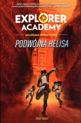 Explorer Academy Akademia Odkrywców Tom 3 Podwójna Helisa - Trudi Trueit   mała okładka
