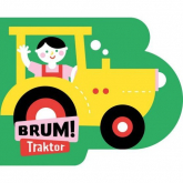 Brum! Traktor Wykrojnik - Anna Jędrzejczyk | mała okładka