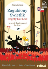 Zagubiony Świetlik Brighty Got Lost w wersji dwujęzycznej dla dzieci - Adam Święcki | mała okładka