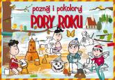 Poznaj i pokoloruj Pory roku - Krzysztof Tonder   mała okładka