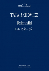 Dzienniki Lata 1944-1960 - Władysław Tatarkiewicz | mała okładka