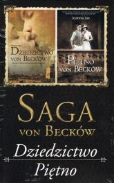 Saga von Becków Dziedzictwo von Becków / Piętno von Becków Pakiet - Joanna Jax | mała okładka