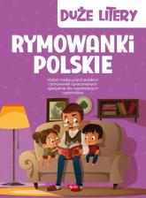 Rymowanki polskie Duże litery - null null | mała okładka