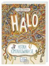 Halo Historia komunikowania się - Liliana Fabisińska | mała okładka