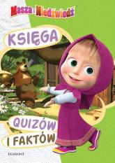 Masza i Niedźwiedź Księga quizów i faktów - zbiorowe opracowanie | mała okładka