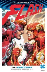 Flash T.8 Wojna Flashów - Joshua Williamson   mała okładka