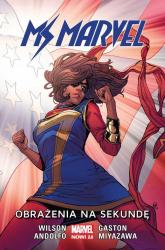 Ms Marvel Tom 7 Obrażenia na sekundę - Wilson G. Willow   mała okładka