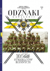Wielka Księga Kawalerii Polskiej Odznaki Kawalerii Tom 26 10 Pułk Strzelców Konnych -    mała okładka
