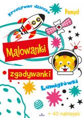 Malowanki zgadywanki - Monika Matusiak | mała okładka