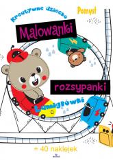 Malowanki rozsypanki - Ewelina Grzankowska | mała okładka