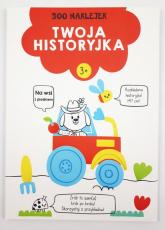 Twoja historyjka Na wsi z pieskiem 300 naklejek Wiek 3+ czerwona -  | mała okładka