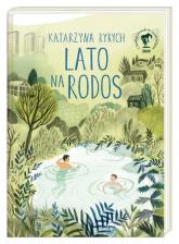 Lato na Rodos - Katarzyna Ryrych   mała okładka