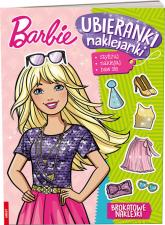 Barbie Ubieranki Naklejanki - zbiorowe Opracowanie | mała okładka