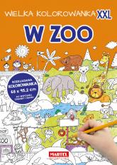 Wielka kolorowanka XXL - W Zoo - zbiorowa praca | mała okładka