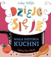 Mała historia kuchni Dzieje się je - Łukasz Modelski | mała okładka