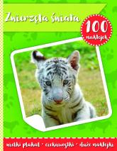 100 naklejek II zwierzęta świata -  | mała okładka