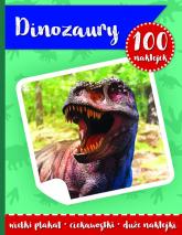 100 naklejek II- dinozaury -  | mała okładka