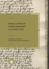 Księgi ławnicze Starej Warszawy z lat 1453-1535 -  | mała okładka