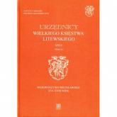Urzędnicy Wielkiego Księstwa Litewskiego Spisy Tom IX Województwo mścisławskie XVI-XVIII wiek -  | mała okładka