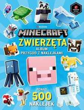 Minecraft Zwierzęta Album przygód z naklejkami ponad 500 naklejek -  | mała okładka