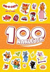 Kot-o-ciaki 100 naklejek - null null | mała okładka