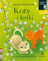 Czytam sobie Koty i kotki / poz 1 - Justyna Bednarek | mała okładka